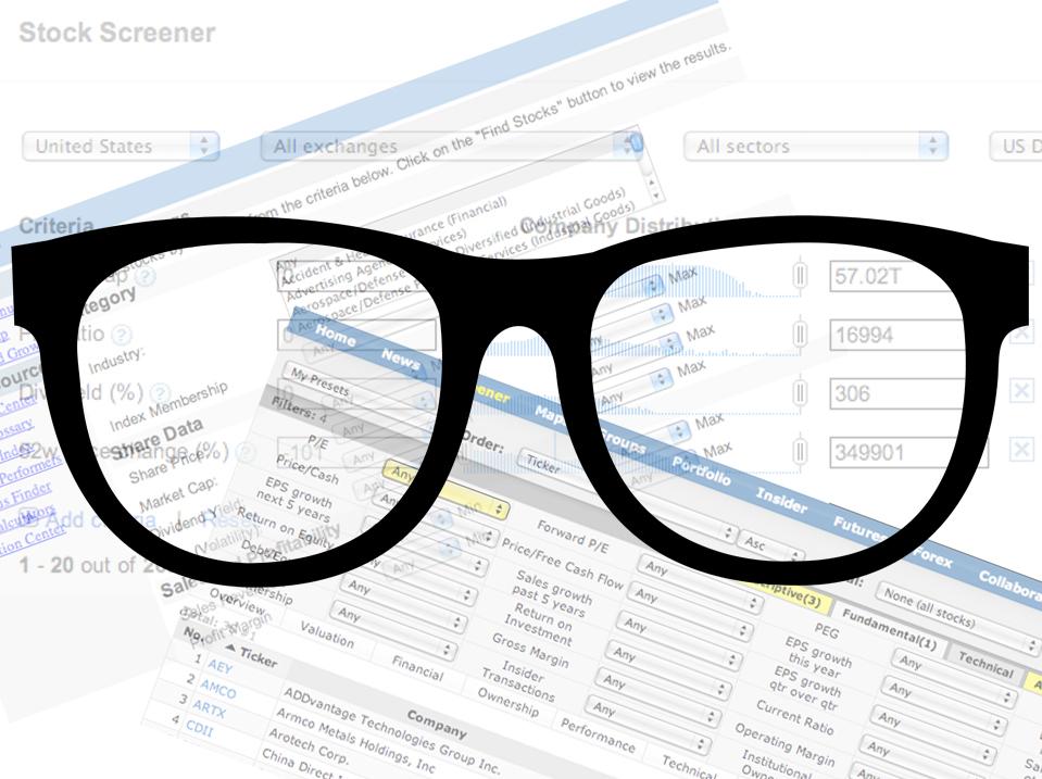 Stock Screener Feature
