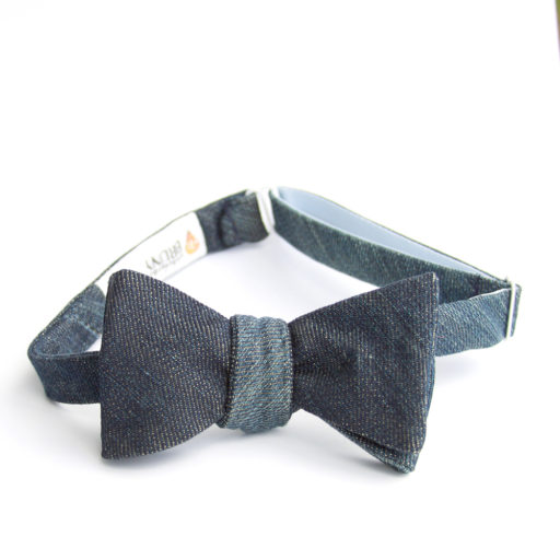 Give Dad the Gift of Denim (Bow Tie)