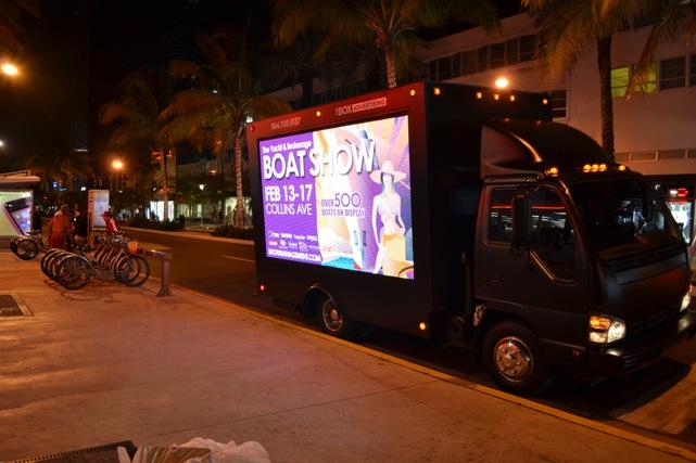 LED Mobile Billboard Manufacturer Miami LED Mobile