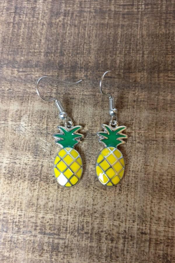 Ananas oorhangers
