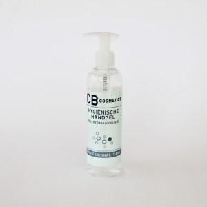 250ml Desinfecterende hygiënische handgel 70% alcohol met pomp