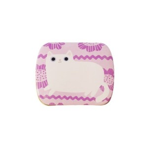 Planet Cat mini blikken doos liila