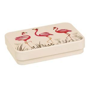 Sara Miller flamingo's blikken doos