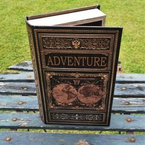 Opbergboek boekendoos Adventure medium voorkant