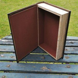Opbergboek boekendoos Adventure medium achterkant