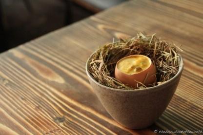 Coddled Egg - Dabbous, London