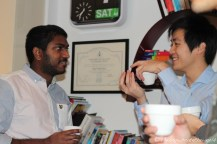 Vinoth & Wes in coversation...
