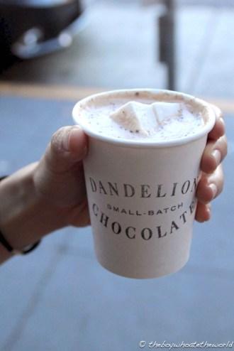 Chocoholics unite @ Dandelion!