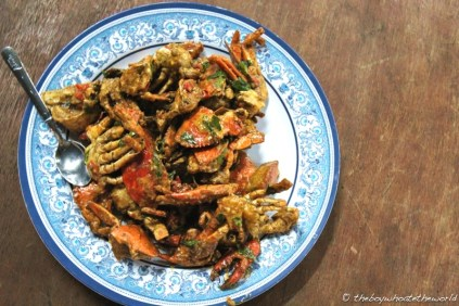 Salted Egg & Butter Mud Crabs