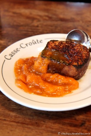 Pain Perdu with Apricot compote