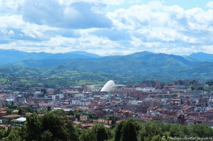 View of Oviedo from Monte Naranco