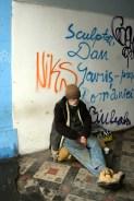 Homeless Romanian