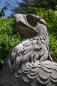 These stone eagles once graced Pen Station