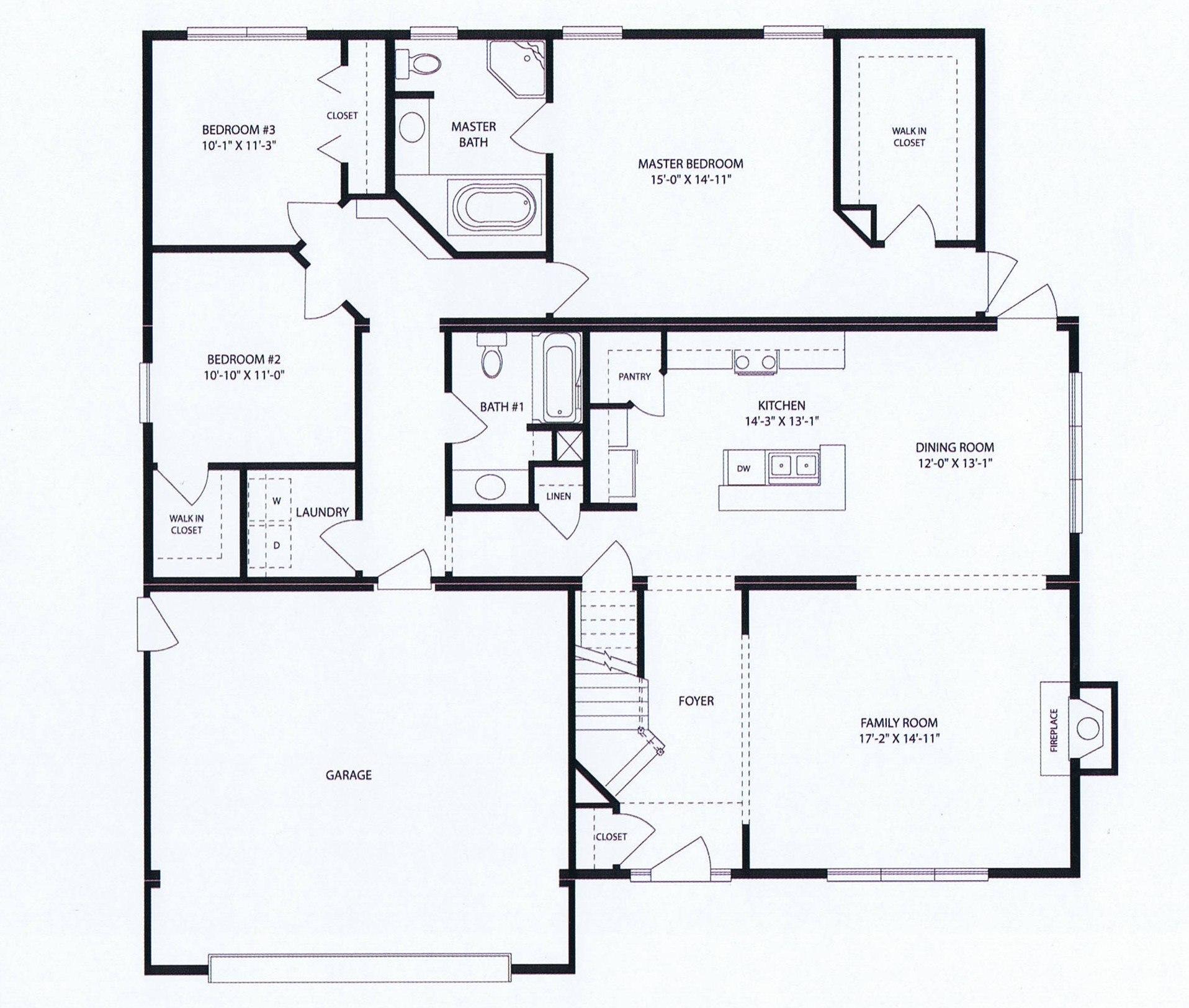 Bainbridge Floorplan