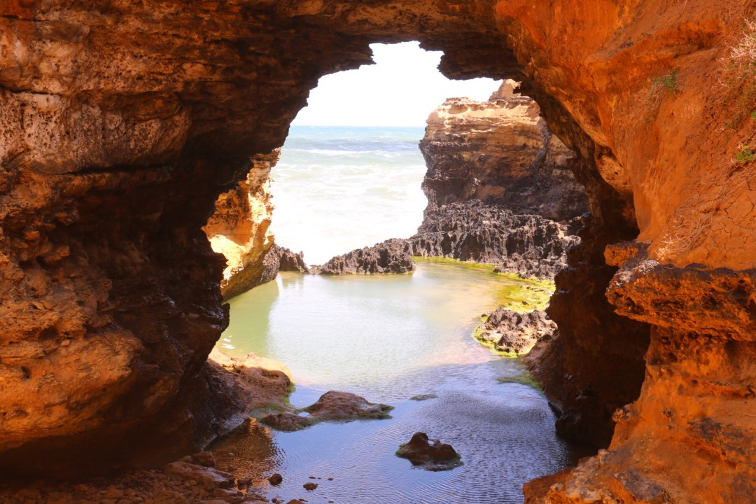 Great Ocean Road | The Grotto | thebraidedgirl