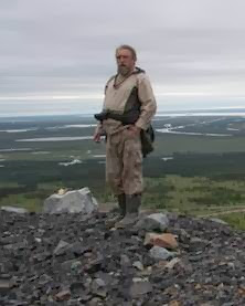 Sergei Zimov surveying Pleistocene Park. Photo Credit: Enryū6473, via Wikipedia
