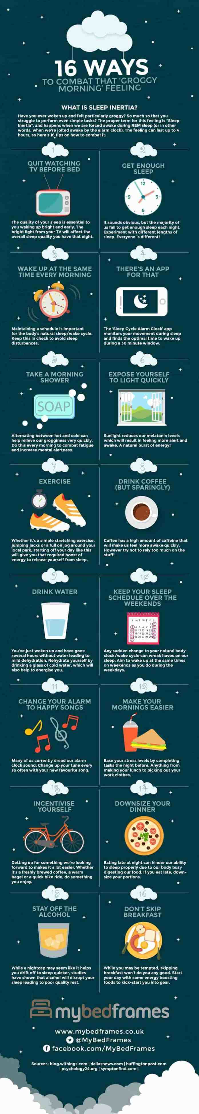 ways for entrepreneur to wake up refreshed