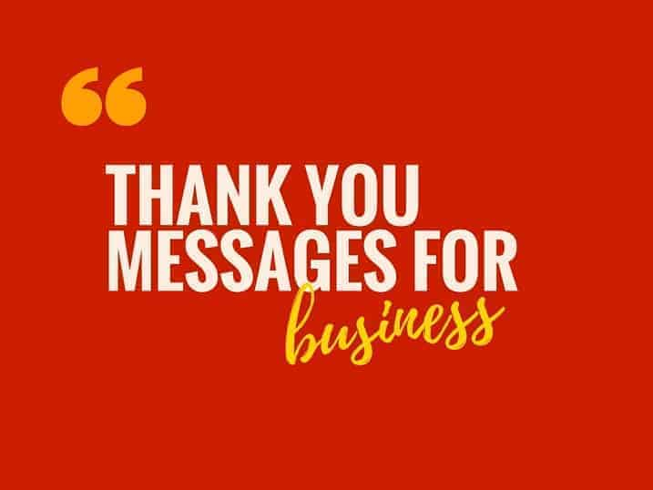 40 perfect business thank you messages notes infographic