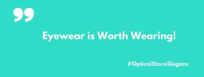 optical store slogans