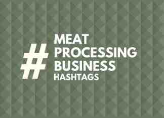 hashtags for meat processing Business