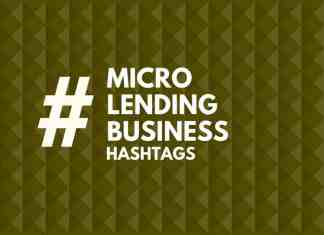 hashtags for micro lending Business