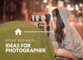 home business ideas for photographers
