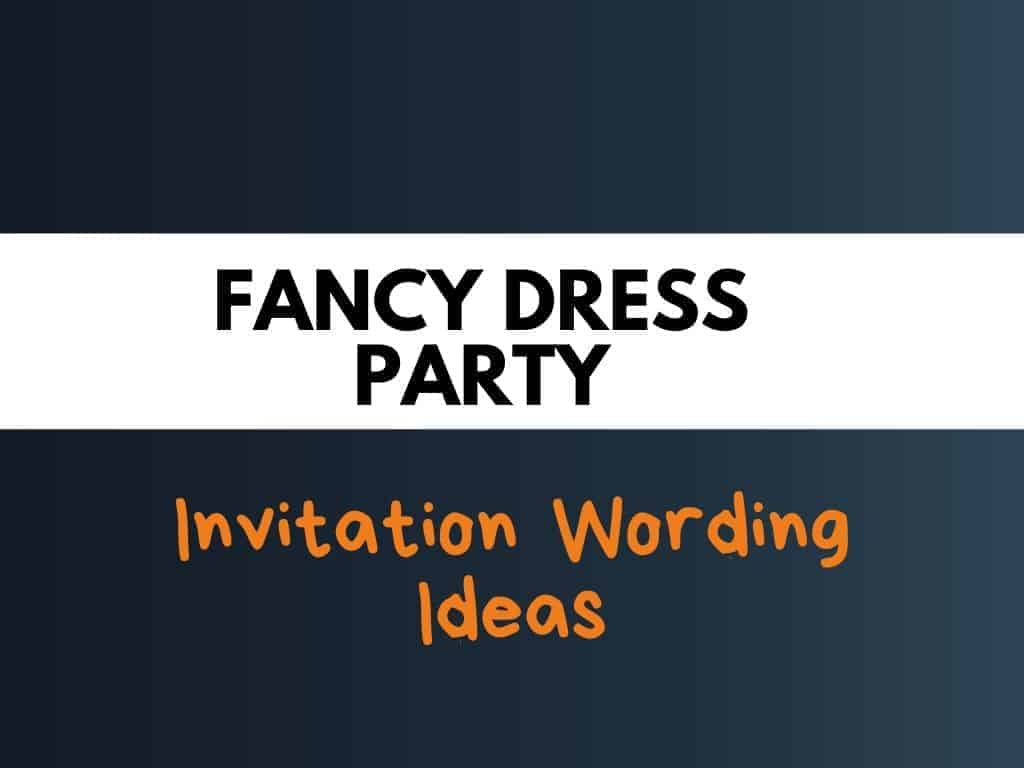 52 best fancy dress party invitation