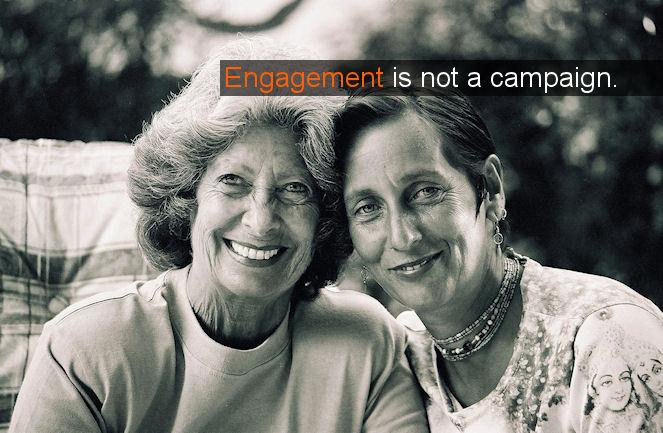 engagement by the brandbuilder