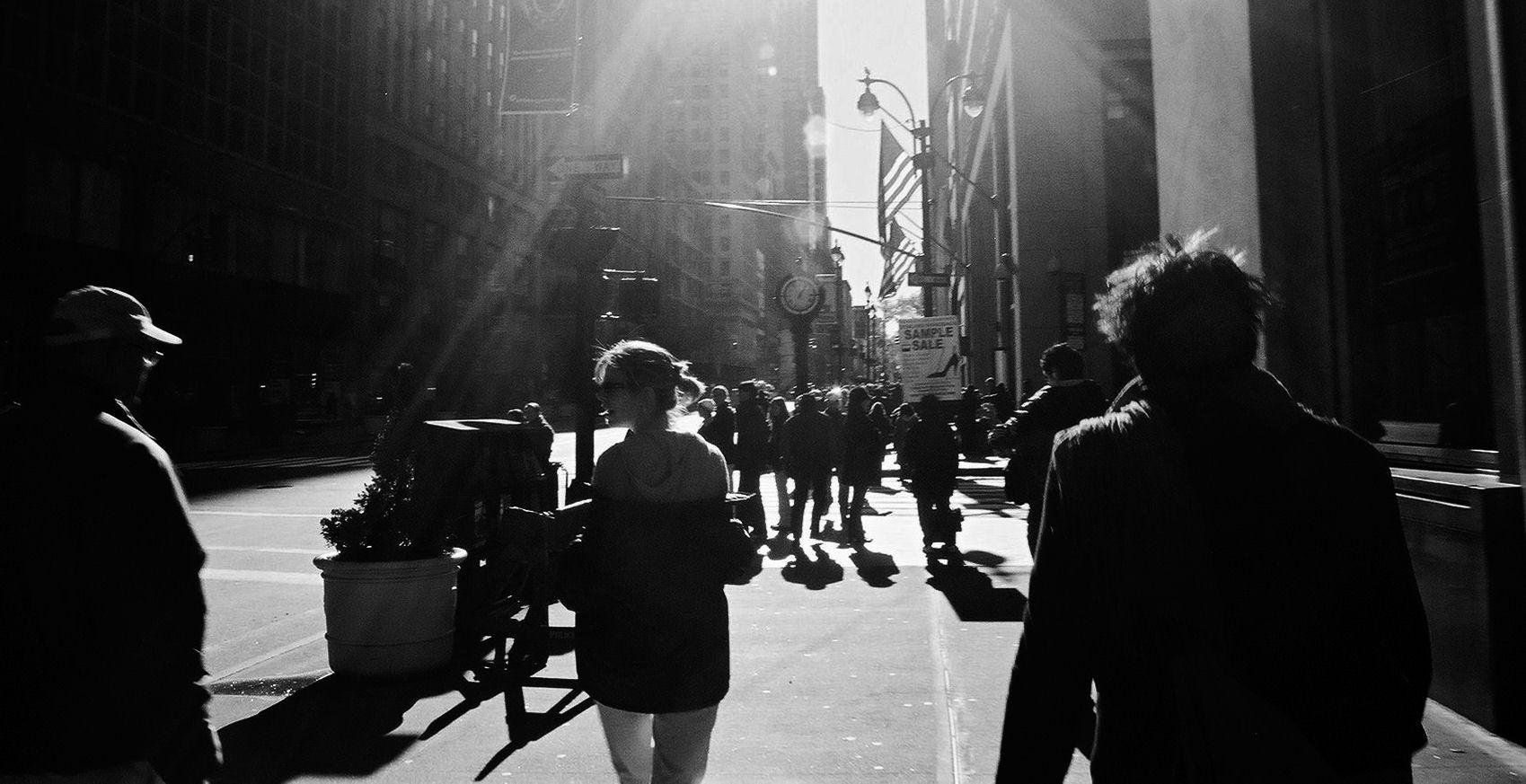 New York City street, by Olivier Blanchard 2005