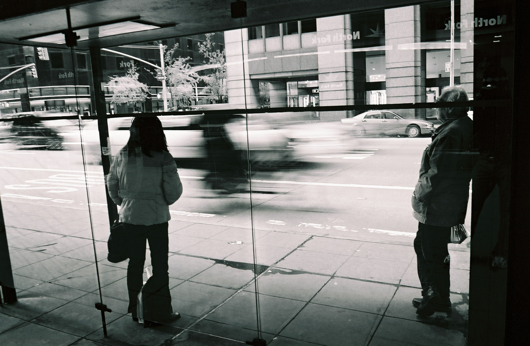 New York Bus Stop