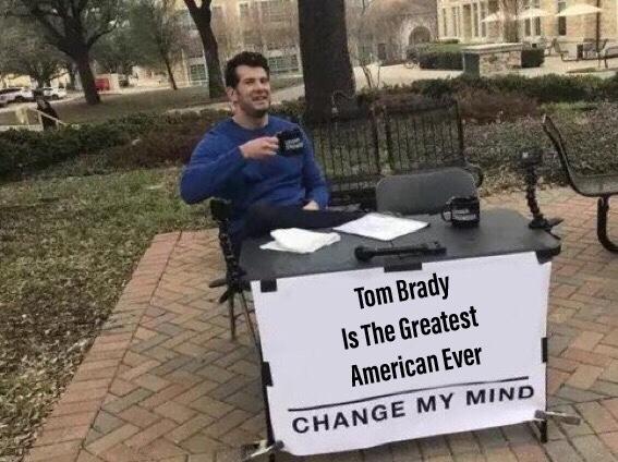 Tom Brady: Greatest American Ever