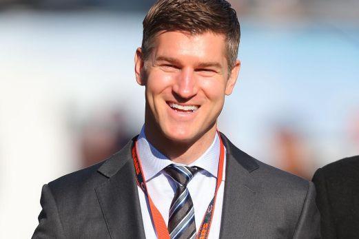 Ryan Pace smiling