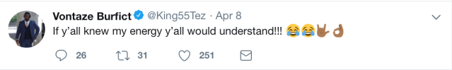 Vontaze Burfict Needs To Be Banned From Twitter And From The NFL