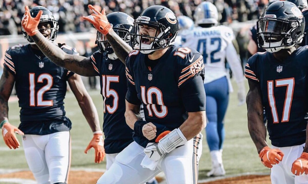 9f9ff19c The 312 Stomped The 313: 9 Thoughts On the Bears Win vs the Lions ...