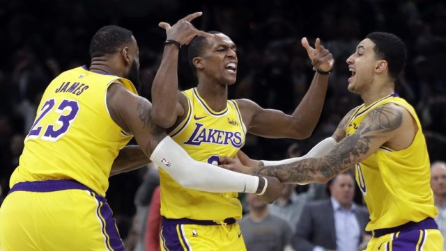Rondo Rips Out the Hearts of Boston in Disappointing loss to Lakers
