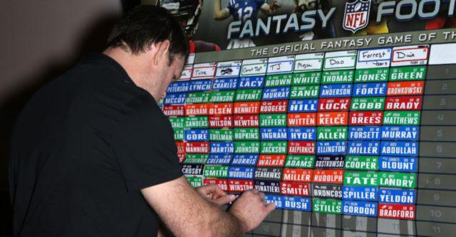 8 Guys You Saw At Your Fantasy Football Draft…