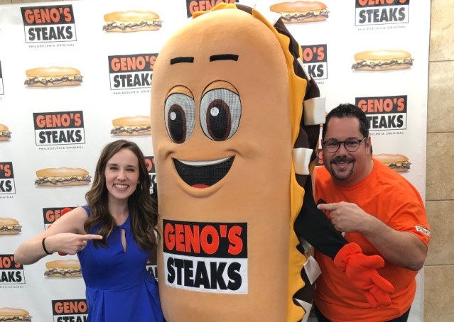 Philadelphia Embarrassed Again: Geno's Introduces A New Un-Circumcised Penis As Their Mascot Named Whizzy