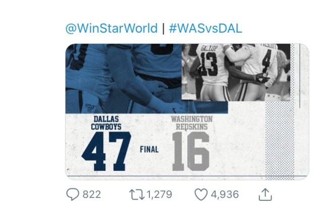 Is This The Saddest Tweet Of All Time From The Dallas Cowboys?