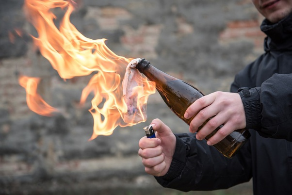 Is Florida On Upset Alert? New Jersey Woman Breaks Stay at Home Order To Throw Molotov Cocktail At Her Boyfriend's House