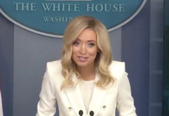 Reporter Presses Kayleigh McEnany On Time She Called Trump