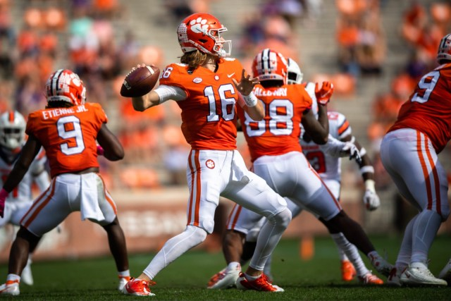 BREAKING: Trevor Lawrence Out