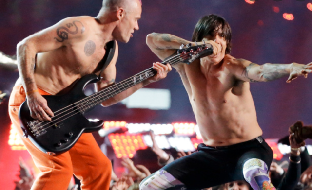 Head into the Weekend with the RHCP Live in Ireland