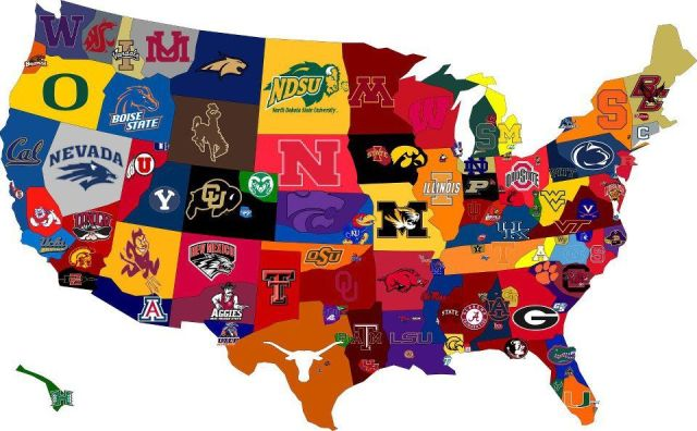 What If College Football Conferences Made Sense?