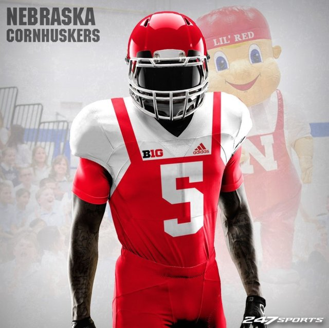 """We All Wanted Nebraska's """"Lil Red"""" Jerseys to Be Real. All For the Wrong Reasons."""
