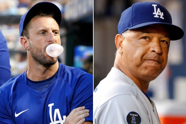 """""""Don't F*cking Touch Me!"""" -Max Scherzer To Dave Roberts"""