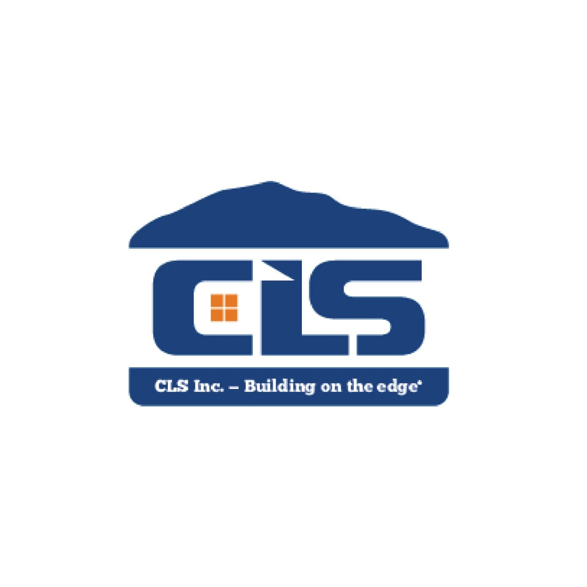 CLS Inc - Building on the Edge Logo