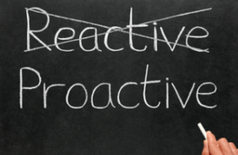 reactive and proactive