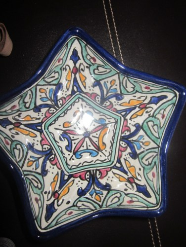 Assiette en céramique / Ceramic plate