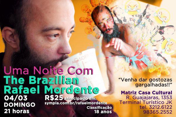 The Brazilian Rafael Mordente