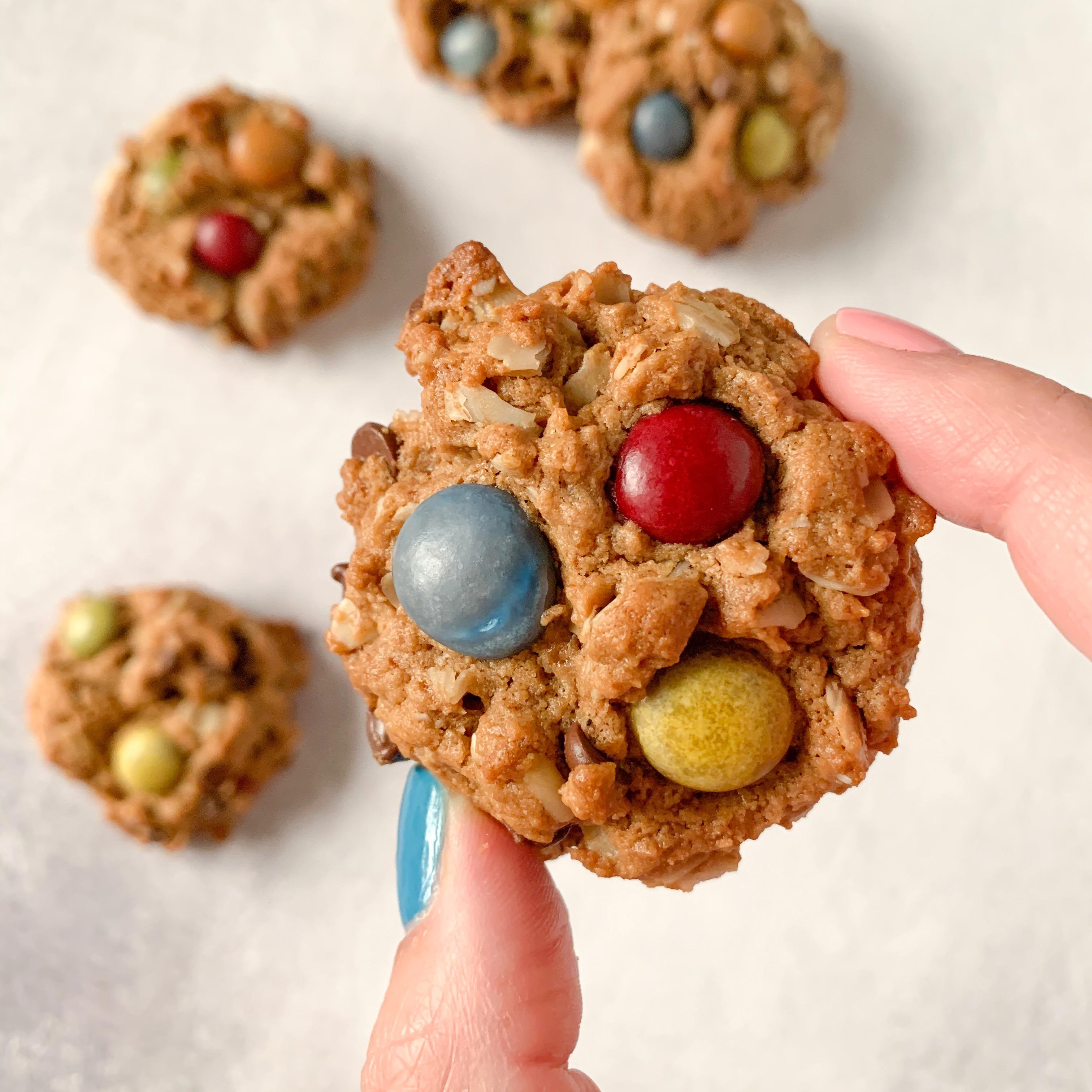 Flourless Monster Cookie